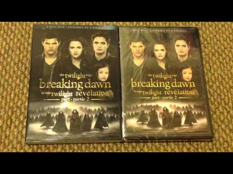 The Twilight Saga: Breaking Dawn Part 2 DVD unboxing