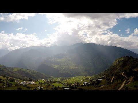 Bhutan temples & culture - Aerial footage, driving and on foot 4K