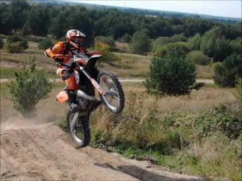 KTM EXC 125 ENDURO GO PRO HD