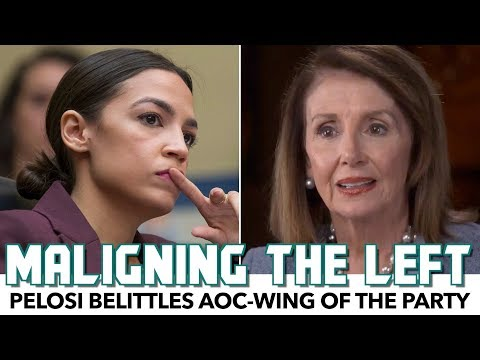 Pelosi Belittles AOC-Wing Of The Party