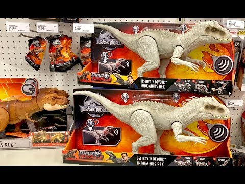 NEW JURASSIC World Toys Hunt - 1 Month Looking for Quetzalcoatlus, Indominus Rex, Primal Pals Blue