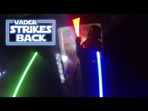 Star Wars: Vader Strikes Back   First Person View of a Lightsaber Duel | Video
