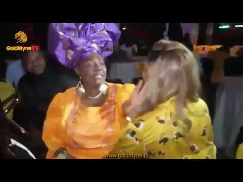 Yoruba Culture! See how Tiwa Savage acknowledged Madam Kofo at a party