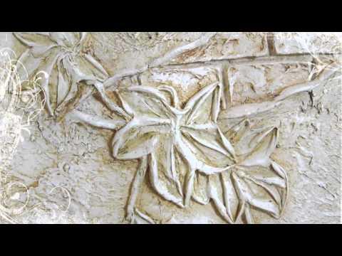Барельэф, роспись стен