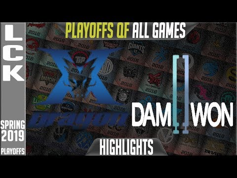 KZ Vs DWG Highlights ALL GAMES | LCK Gauntlet Round 2 Spring 2019 | King Zone Vs Damwon Gaming
