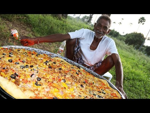 This grandpa makes huge servings of food and donates them to orphans in his community!