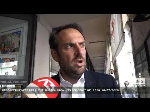 PROSPETTIVE NERE PER IL TURISMO DI MARCA: - 75 PER CENTO NEL 2020 | 01/07/2020