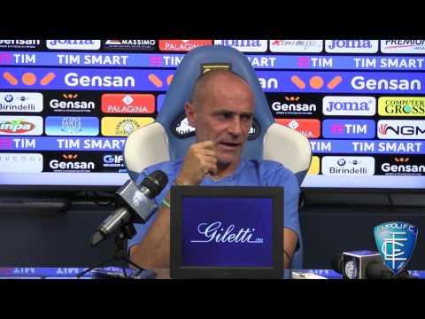 Mister Martusciello in conferenza stampa prima di Udinese-Empoli