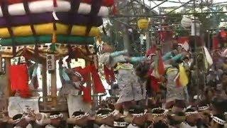 【長崎】圧巻!長崎くんち太鼓山!