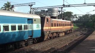 Thrissur India  city pictures gallery : Indian Trains - A Morning Hour from Thrissur Kerala