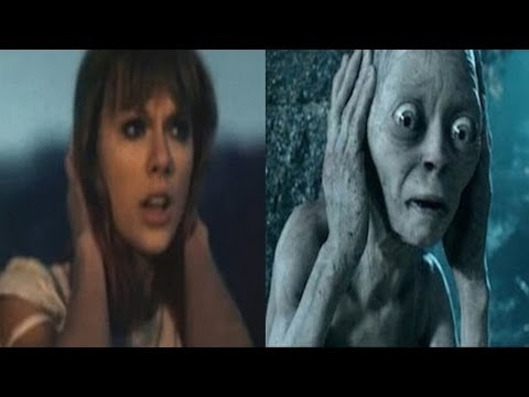 Gollum - Gollum from Lord Of The Rings covers Taylor Swift's