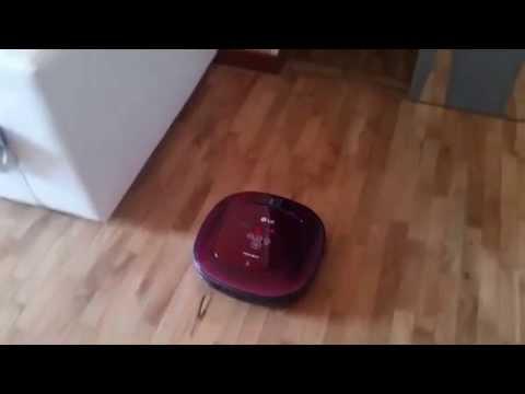 Recensione robot aspirapolvere LG Hom Bot VR64701LVMP