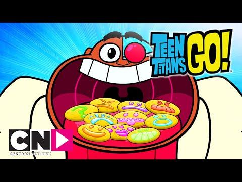 Юные титаны, вперед! | Шоу Разнообразия Титанов | Cartoon Network