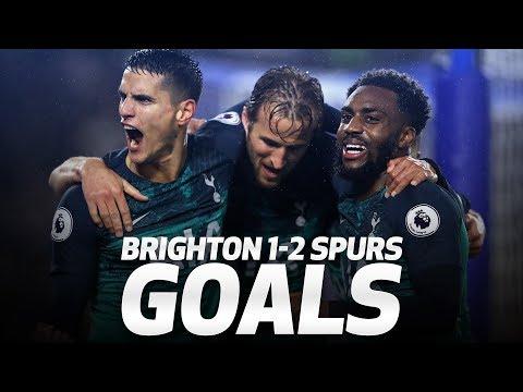 Video: GOALS | BRIGHTON 1-2 SPURS