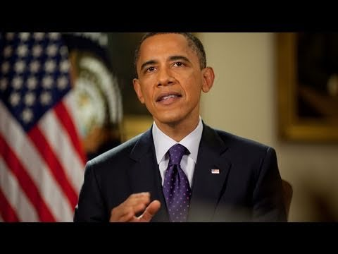 "Weekly Address: ""President Obama Says the Mission in Libya is Succeeding"" thumbnail"