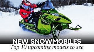 4. 10 Upcoming Snowmobiles for 2020-2021 Winter Seasons (New and Best-Selling Models)