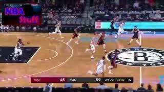 NBA Preseason 2018   Miami Heat Vs  Brooklyn Nets   Full Game Highlights   Oct  5 2017