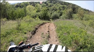9. Yamaha XT 250 ENDURO 2018 with the GoPro 6 in 4k