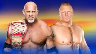 Nonton Brock Lesnar Vs. Goldberg | WWE WrestleMania XXXIII |  Universal Championship | Highlights [HD] Film Subtitle Indonesia Streaming Movie Download