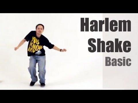 Хип-Хоп: Harlem Shake. Урок видео обучения.