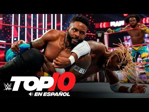 Top 10 Mejores Momentos de Raw En Español: WWE Top 10, Nov 23, 2020