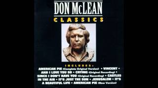 Castles In The Air - Don McLean