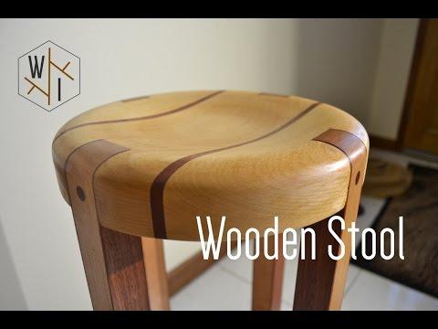 வித்தியாசமான மர நாற்காலி Wooden Stool