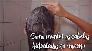 Como manter os cabelos hidratados no inverno