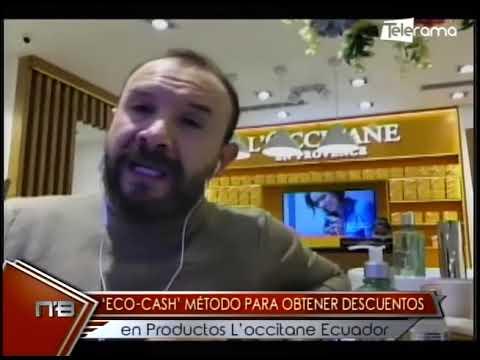 ECO-CASH método para obtener descuentos en productos L'occitane Ecuador