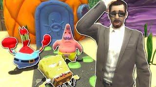 BIKINI BOTTOM SPONGBOB MYSTERY? - Garry's Mod Gameplay - Gmod Spongebob roleplay