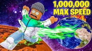 I Got 1,000,000 SPEED..everyone was MAD! (Roblox)