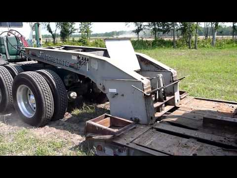 Hooking up the Lowboy