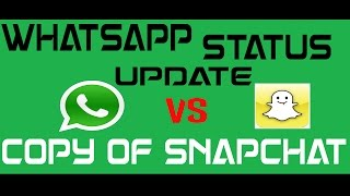 """sadly,you will no longer see the """"hey there!i m using whatsapp"""" status anymorethe whatsapp status update feature lets you post -images,videos and GIFs as your stories which will be automatically deleted after 24 hours.In this video i have briefly explained whatsapp stories.the new whatsapp status update feature has been taken from the snapchat app. this is the biggest whatsapp update of 2017. And no one is liking it.people will take some time to get along this feature and as whatsapp has an enoumous number of people using the app,stories on whatsapp is expected to become a major hit.popular social networking platforms like instagram and facebook have already copied snapchat.keep watching if you dont know how to use instagramor  if you dont know how to use snapchatintro song - Pull the trigger by RUSSlink https://www.youtube.com/watch?v=wjh2gav5a48"""
