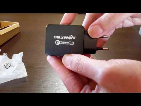 Qualcomm Certified BlitzWolf® BW-S5 QC3.0 USB Charger EU from BANGGOOD