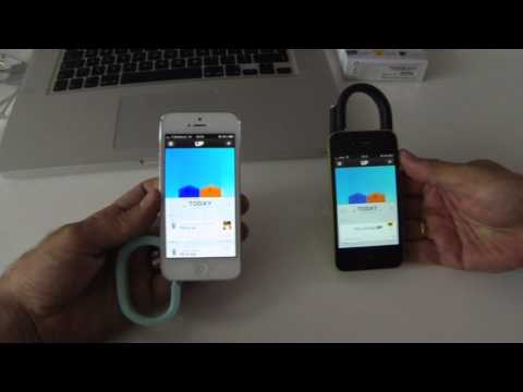 how to sync jawbone up with iphone