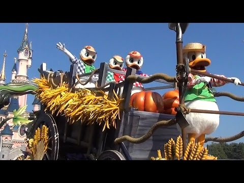 New Angle – Mickey's Halloween Celebration, Disneyland Paris (La Celebration Halloween de Mickey)