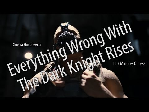 dark knight - For all its popularity and massive box office earnings, The Dark Knight Rises is still a film with many sins. We've listed them for you. Which movie's sins s...