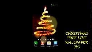 Christmas Tree Live Wallpaper YouTube video
