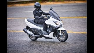 7. 2018 Kymco Spade 150, Xciting 400i ABS, Xtown 300i ABS, & Like 150i ABS It's Always the Quiet Ones