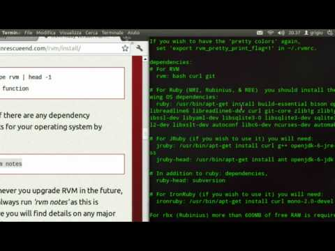 how to remove rvm from ubuntu