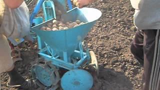 Самодельная картофелесажалка