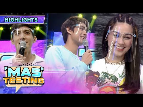 Robi teases Donny with Zeinab | It's Showtime Mas Testing
