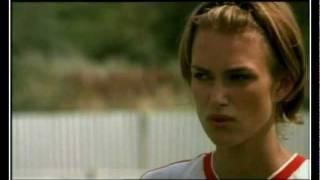 Re issued Music Video of Keira Knighley from the film  Bend it Like Beckham