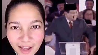 """Download Video Tante cantik komentarin penampilan Prabowo di debat Pilpres. """"Masih pura2 begok"""", katanya MP3 3GP MP4"""
