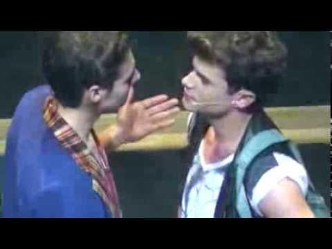 Su ultima pelea en el rex + Blooper - Violetta - Gran Rex - Ultima Funcion -  (Jorge Blanco ))