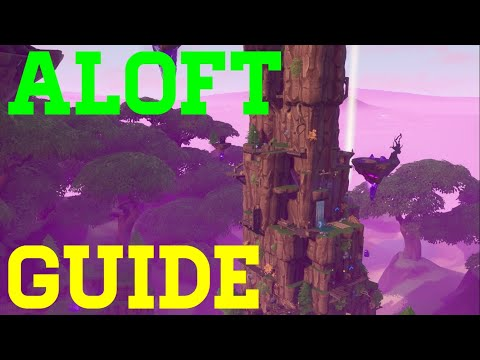 How To Complete Aloft By Rynex - Fortnite Creative Guide