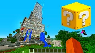 Minecraft Lucky Block TOWER #1 with Vikkstar, BajanCanadian&JeromeASF (Minecraft Lucky Block Mod)
