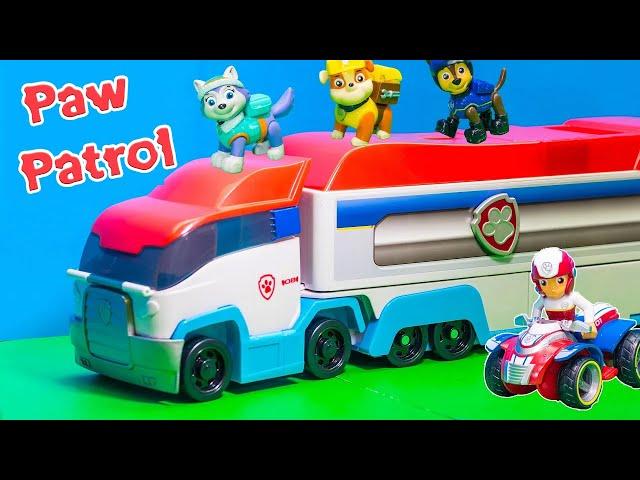 Paw patrol giocattoli personaggi di cartoni animati uovo for Blaze e le mega macchine youtube