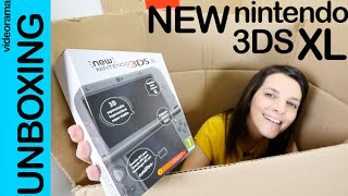 New Nintendo 3DS XL unboxing en español