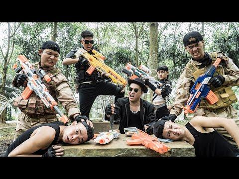 LTT Nerf War : Captain SEAL X Warriors Nerf Guns Fight Dr.Lee Crazy Capture Criminal Gangs
